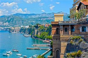 The Sorrento Peninsula and Amalfi Coast
