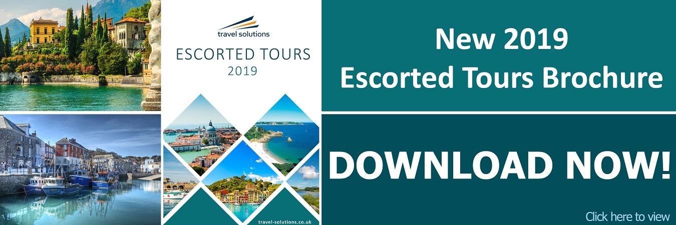 New 2019 Escourted Tours Brochure Slide