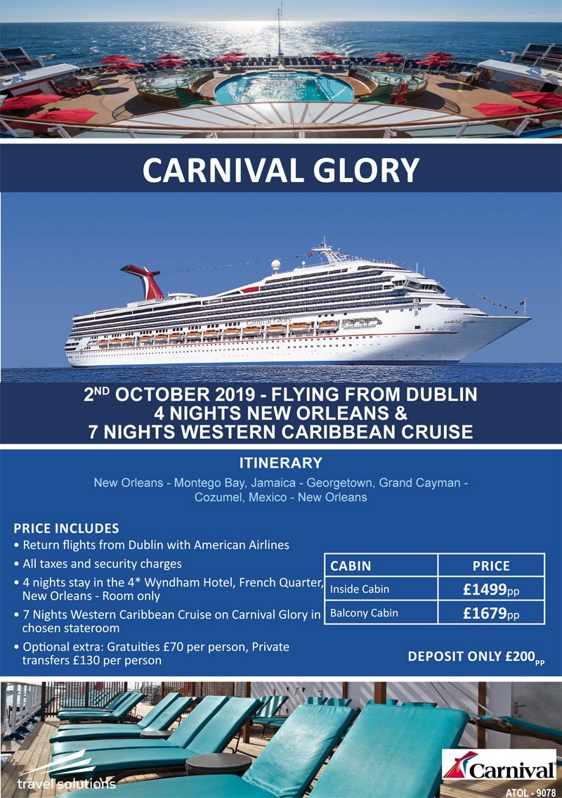 October 2019 Cruise Offers | Travel Solutions