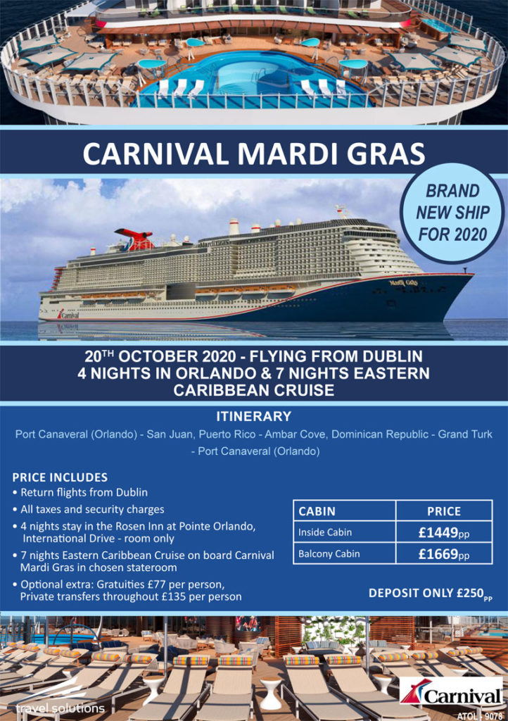 Cruise October 2020.October 2020 Cruise Offers Travel Solutions