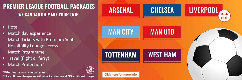 Premier League Football Packages