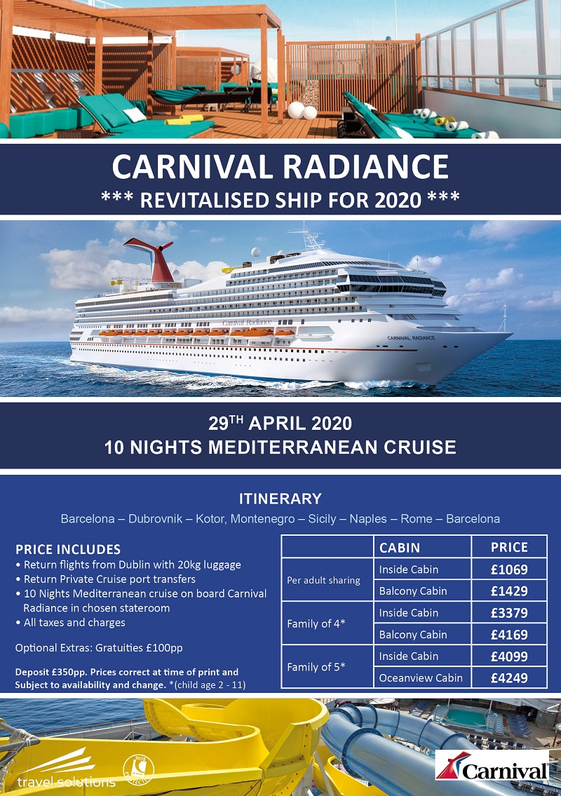 Cruise April 2020.April 2020 Cruise Offers Travel Solutions