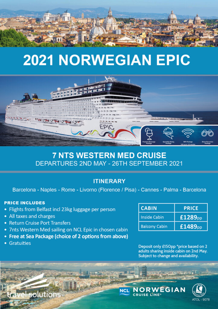 July 2021 Cruise Offers | Travel Solutions
